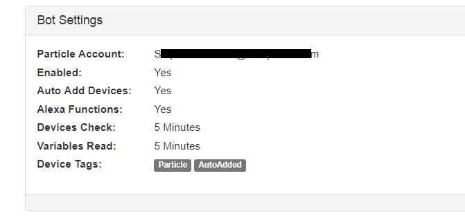 The option in ParticleBot settings